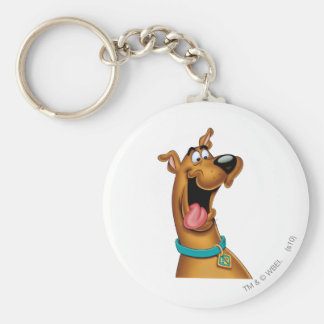 Pose 15 d'aerographe de Scooby Doo Porte-clé Rond