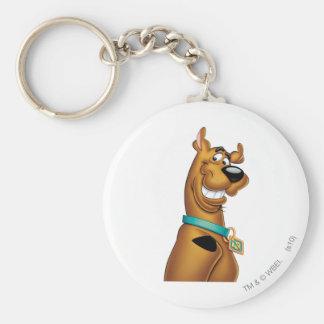 Pose 22 d'aerographe de Scooby Doo Porte-clé Rond