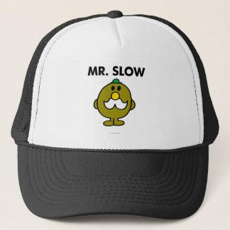 Pose classique de M. Slow   Casquette