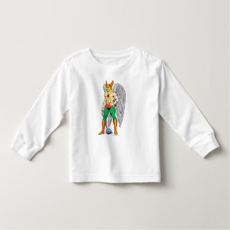 Pose de position de Hawkman Tee Shirt