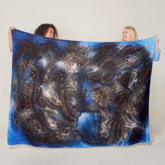 Poseidon Constellation Fantasy Acrylic Art Fleece Blanket