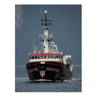 Poseidon, Fishing Trawler in Dutch Harbor, AK Postcard
