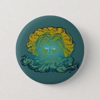 Poseidon Neptune 2 Inch Round Button