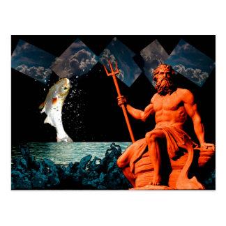 Poseidon Postcard