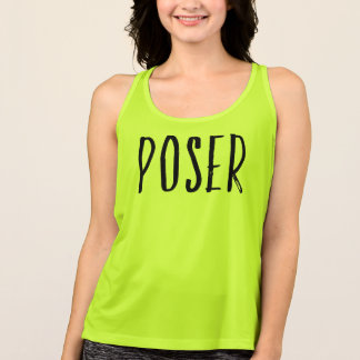 Poser Yoga Women's Workout Tank Top Yoga Clothing