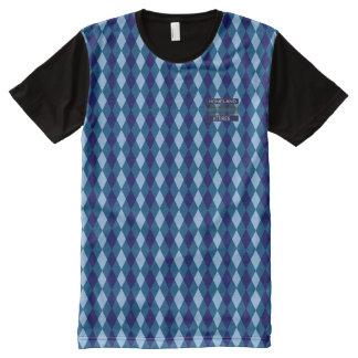 Posh Diamond Lovely Blues Modern Shirt