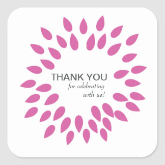 Posh Petals | Berry | Customizable Sticker