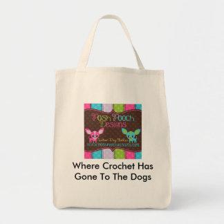 Posh Pooch Designs Grocery Bag