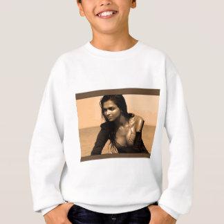 Posing confident Indian Bollywood  beauty deepika Sweatshirt