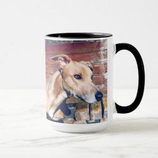 Posing Dog Mug