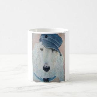 Posing Poodle Mug