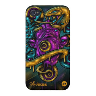 Posionous Energy iPhone Case iPhone 4 Case