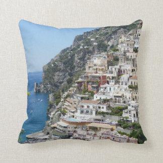 Positano, Amalfi Coast Italy Throw Pillow