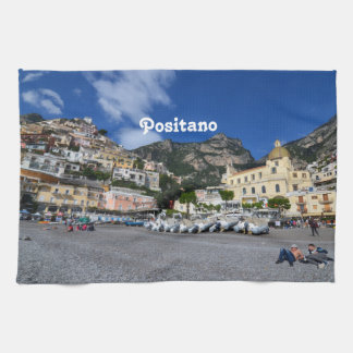 Positano Beach Kitchen Towel