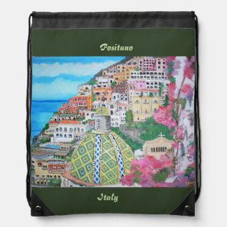 Positano, Drawstring Backpack