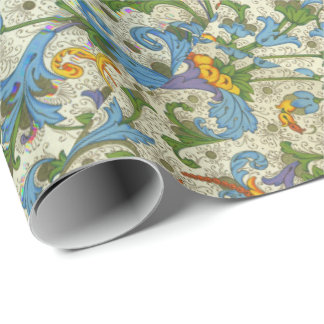 Positano Floral Wrapping Paper