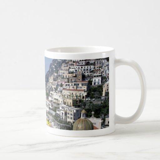 Positano, Italy Basic White Mug