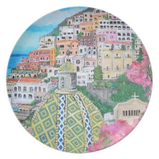 Positano, Italy - Plates