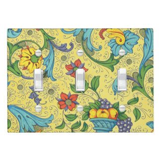 Positano Mustard Light Switch Cover