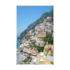 Positano Stretched Canvas Print