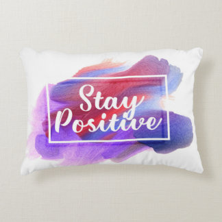 Positive Accent Pillow