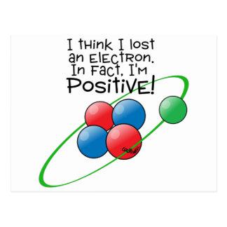 Positive Atom Postcard