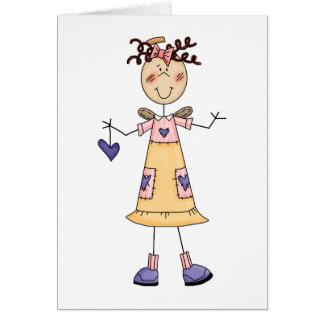 Positive Attitude Angel Card