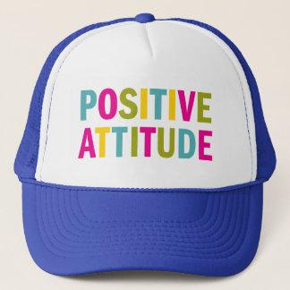 Positive Attitude in bright colors Trucker Hat