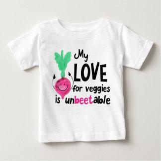 Positive Beet Pun - My Love for Veggies Baby T-Shirt