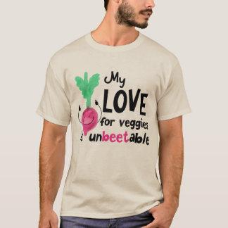 Positive Beet Pun - My Love for Veggies T-Shirt