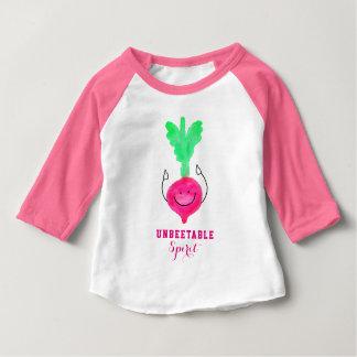 Positive Beet Pun - Unbeetable Baby T-Shirt