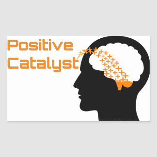 Positive Catalyst Square Stickers