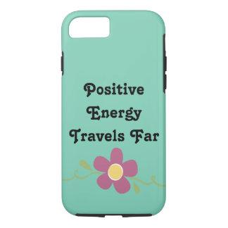 Positive Energy Travels Far Phone Case