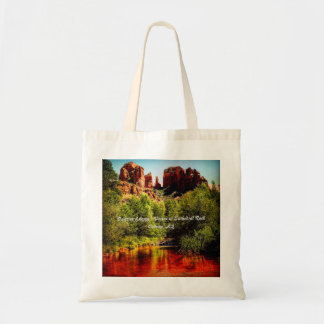 Positive Energy Vortex; Cathedral Rock Tote Bag