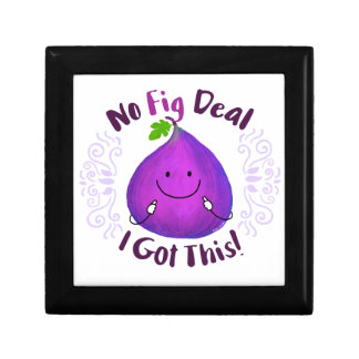 Positive Fig Pun - No Fig Deal I got this Gift Box