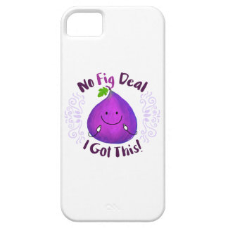 Positive Fig Pun - No Fig Deal I got this iPhone 5 Cover