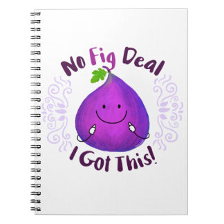 Positive Fig Pun - No Fig Deal I got this Notebook