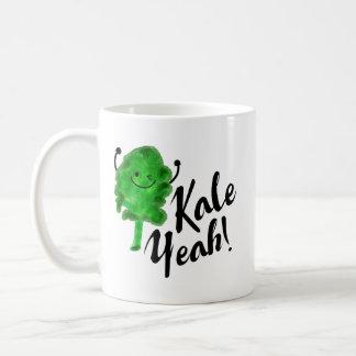 Positive Kale Pun - Kale Yeah! Coffee Mug