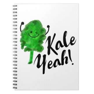 Positive Kale Pun - Kale Yeah! Notebook