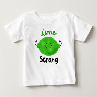 Positive Lime Pun - Lime Strong Baby T-Shirt