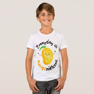 Positive Mango Pun - Everyday is Mangonificent T-Shirt