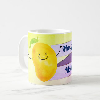 Positive Mango Pun - Mangonificent Mother Coffee Mug