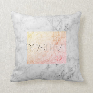 POSITIVE marble pillow home decor