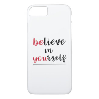 Positive Message Encouragement iPhone 8/7 Case