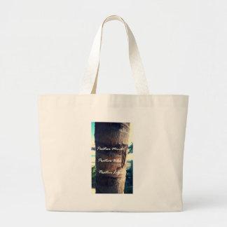 Positive Mind, Positive Vibe, Positive Life Large Tote Bag