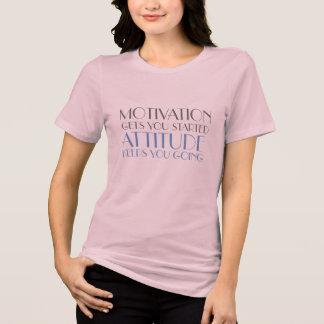 positive mind positive vibes motivation attitude T-Shirt