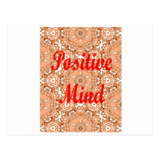 Positive Mind Postcard