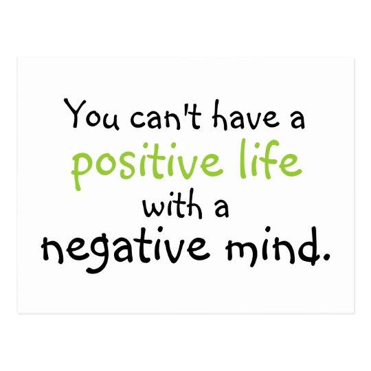 positive mind postcard