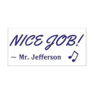 "Positive ""NICE JOB!"" Marking Rubber Stamp"