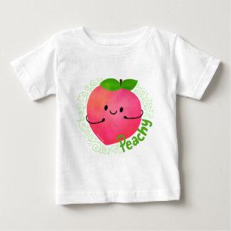 Positive Peach Pun - Peachy Baby T-Shirt